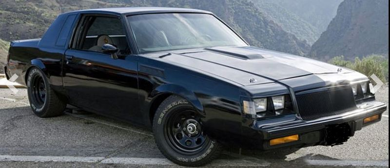Buick GNX von 1987 aus Teil 4 von The Fast and the Furious