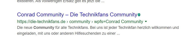 Conrad Community Die Technikfans Comunity